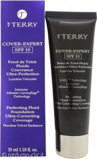 By Terry Cover Expert Perfecting Fluid Fondotinta SPF15 35ml - 11 Amber Brown