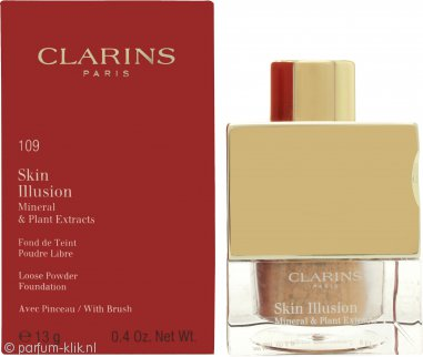 Clarins Skin Illusion Losse Poeder Foundation 13g - 109 Wheat