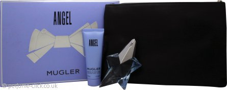 Thierry Mugler Angel Gift Set 25ml EDP + 50ml Body Lotion + Pouch