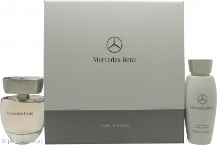 Mercedes-Benz for Her Gift Set 60ml EDP + 100ml Body Lotion