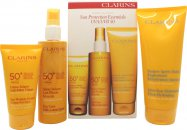 Clarins Travel Exclusive Sun Protection Essentials Gift Set 3 Pieces
