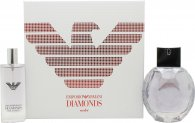 Giorgio Armani Emporio Armani Diamonds Violet Set Regalo  50ml EDP + 15ml EDP