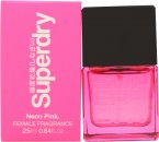 Superdry Neon Pink Eau de Cologne 25ml Spray