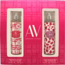 Adrienne Vittadini Set de regalo x2 148ml  Fragrance Mist