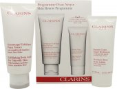 Clarins Skin Renew Gavesett 200ml Exfoliating Body Scrub + 100ml Body Lotion
