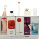 Kenzo Miniatures for Women Set de regalo 4ml Jeu D'Amour EDP + 4ml Flower in The Air EDP + 4ml Flower EDP + 5ml Jungle EDP + 5ml L'Eau Kenzo EDP