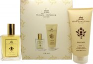 Woods of Windsor For Men Set de regalo 100ml EDT + 200ml Gel de baño