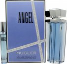 Thierry Mugler Angel Set de regalo 100ml EDP Rellenable + 7.5ml EDP