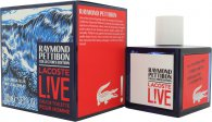Lacoste Live Eau de Toilette 100ml Spray - Raymond Pettibon Collectors Edition