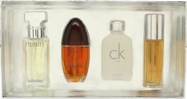 Calvin Klein Women Miniature Gavesæt 4 x 15ml EDT