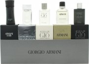 Giorgio Armani Miniatures Gift Set 5 Pieces