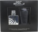 David Beckham Respect Set de regalo 40ml EDT + 200ml Gel de ducha