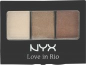 NYX Love In Rio Paletka Cieni do Powiek 3g - 0.1 No Tan Lines Allowed