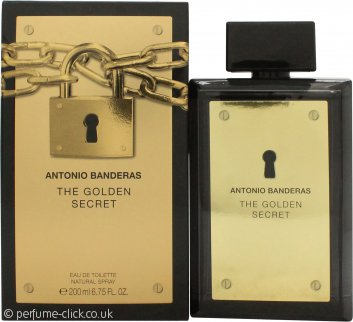 Antonio Banderas The Golden Secret Eau de Toilette 200ml Spray