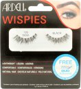 Ardell Wispies False Eyelashes - 120 Demi Black