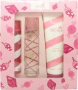Aquolina Pink Sugar Gift Set 100ml EDT + 250ml Body Lotion + 100ml Hair Perfume