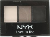 NYX Love In Rio Eyeshadow Palette 3g - 0.1 No Tan Lines Allowed