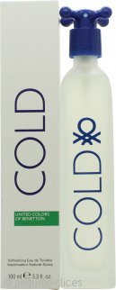 Benetton Cold Eau de Toilette 100ml Vaporizador