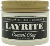 Layrite Cement Hair Clay Cream 120ml