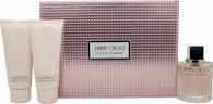 Jimmy Choo Illicit Flower Set Regalo  100ml EDT + 100ml Lozione Corpo + 100ml Gel Doccia