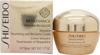 Shiseido Benefiance Wrinkle Resist 24 Intensive Nourishing & Recovery Crema 50ml