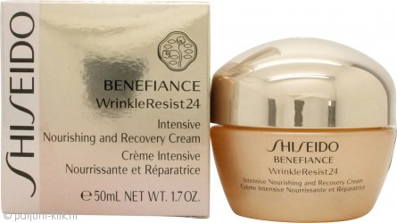 Shiseido Benefiance Wrinkle Resist 24 Intensive Nourishing & Recovery Crème 50ml