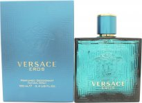 Versace Eros Deodorant Spray 3.4oz (100ml)