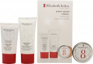 Elizabeth Arden Eight Hour Cream Set de regalo 30ml Intensive Moisturising Hand Treatment + 15ml Skin Protectant  + 13ml Lip Protectant