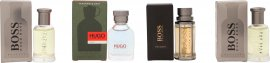Hugo Boss Geschenkset 2 X 5ml Bottled EDT + 5ml Hugo Man EDT + 5ml Boss The Scent EDT