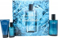 Davidoff Cool Water Gift Set 75ml EDT + 50ml Shower Gel + 15ml EDT