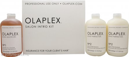 Olaplex Gift Set 525ml Bond Multiplier No.1 + 2 x 525ml Bond Perfector No.2 + Applicator