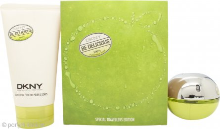 DKNY Be Delicious Travellers Edition Presentset 50ml EDP + 150ml Body Lotion