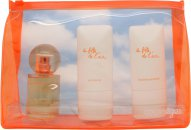 Courreges La Fille de L'Air Gavesæt 50ml EDP + 50ml Shower Gel + 50ml Body Lotion