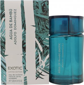 Adolfo Dominguez Agua de Bambu Exotic Limited Edition Eau de Toilette 120ml