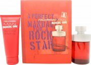 Jesus Del Pozo Halloween Man Rock On Set Regalo 125ml EDT + 100ml Gel Doccia