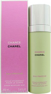 d07c3552 Chanel Chance Eau Fraiche Sheer Moisture Mist 100ml Spray