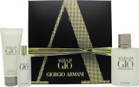 Giorgio Armani Acqua Di Gio Gift Set 100ml EDT + 75ml Shower Gel + 15ml EDT
