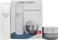 Shiseido Men Energizing Gift Set 125ml Cleansing Foam + 50ml Revitalizer Cream