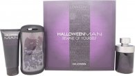 Jesus Del Pozo Halloween Man Gift Set 125ml EDT + 100ml Shower Gel + Armband