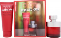Jesus Del Pozo Halloween Man Rock On Set Regalo 75ml EDT + 100ml Cuidado Facial Hidratante