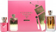 Prada La Femme Intense Gift Set 100ml EDP + 100ml Body Lotion