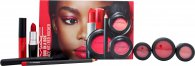 MAC Look In A Box Red Rocker Gift Set 7 Pieces