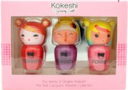Kokeshi Nail Polish Gift Set 3 x 5ml Nail Polish