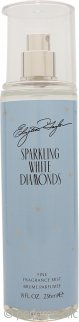 Elizabeth Taylor Sparkling White Diamonds Body Mist 235ml Spray