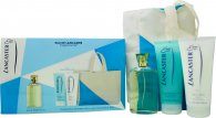 Lancaster Eau de Lancaster Gift Set 125ml EDT + 200ml Body Milk + 200ml Shower Gel + Bag