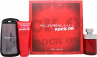 Jesus Del Pozo Halloween Man Rock On Presentset 125ml EDT + 100ml Duschgel + Armband