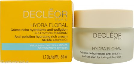 Decleor Hydra Floral Anti-Pollution Hydrating Rich Cream 50ml