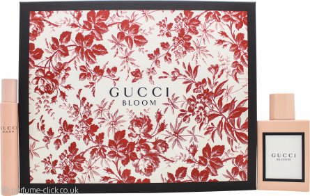 Gucci Bloom Gift Set 50ml EDP +7.4ml EDP