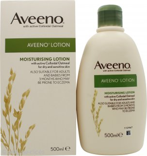 Aveeno Natural Colloidal Oatmeal Body Lotion 500ml