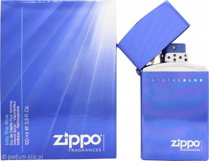 Zippo Into The Blue Gift Set 50ml EDT + 50ml EDT Refill